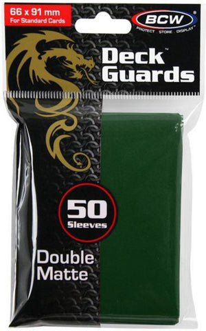 BCW - Gaming Deck Guard Matte Green-BCW-MoxLand