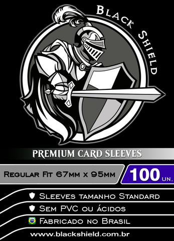Black Shield - Regular Fit Shield Transparente 100 Unidades-Black Shield-MoxLand