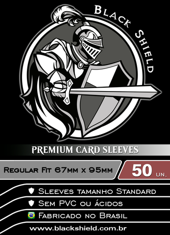 Black Shield - Regular Fit Shield Transparente 50 Unidades-Black Shield-MoxLand