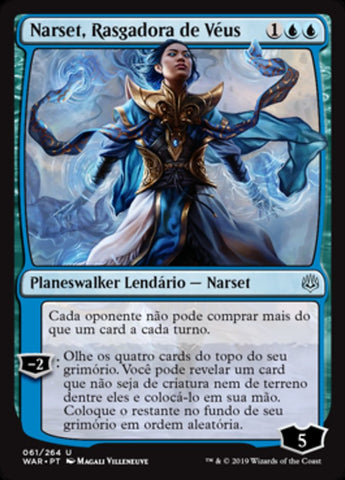 Narset, Rasgadora de Véus / Narset, Parter of Veils-Magic: The Gathering-MoxLand