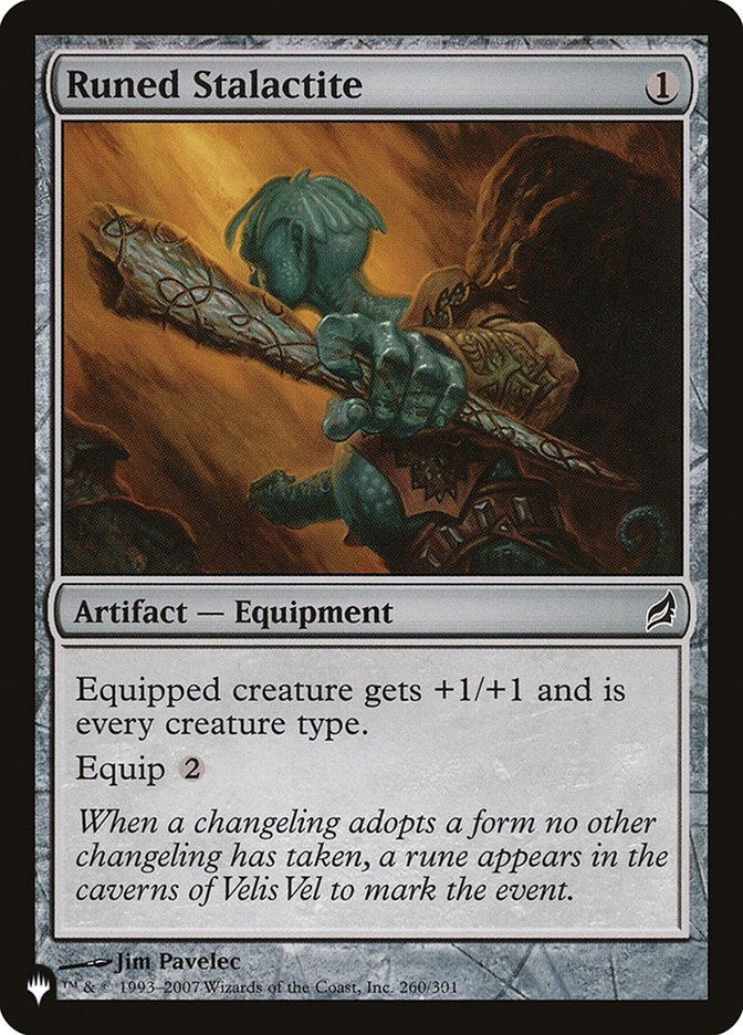 Estalactite Runica / Runed Stalactite-Magic: The Gathering-MoxLand