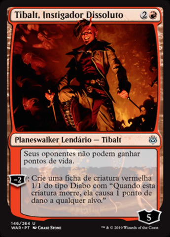 Tibalt, Instigador Dissoluto / Tibalt, Rakish Instigator-Magic: The Gathering-MoxLand