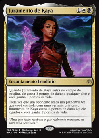 Juramento de Kaya / Oath of Kaya-Magic: The Gathering-MoxLand