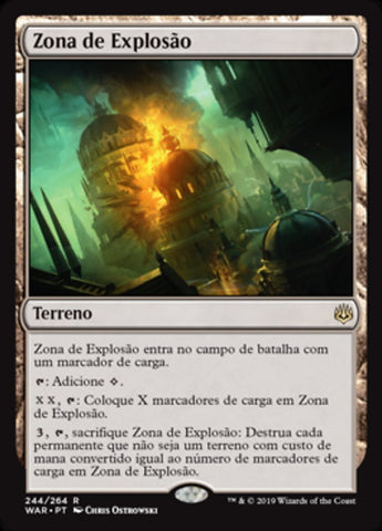 Zona de Explosão / Blast Zone-Magic: The Gathering-MoxLand