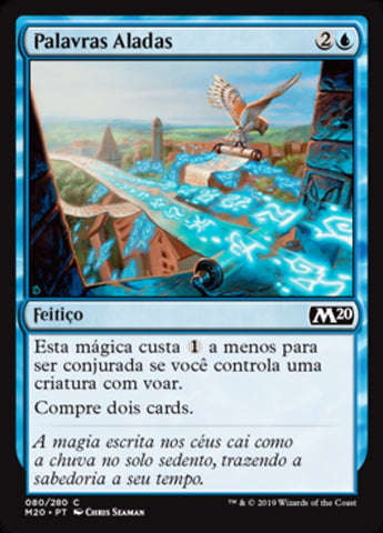 Palavras Aladas / Winged Words-Magic: The Gathering-MoxLand