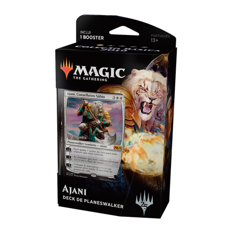 Planeswalker Deck - Magic 2019 Ajani-Magic: The Gathering-MoxLand