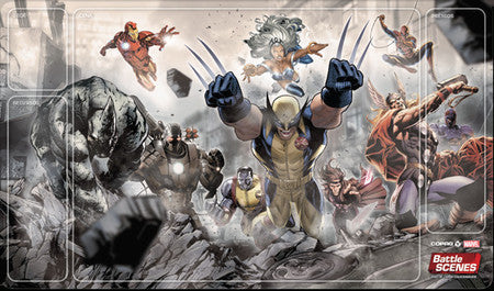 Battle Scenes - Marvel Playmat-Battle Scenes-MoxLand