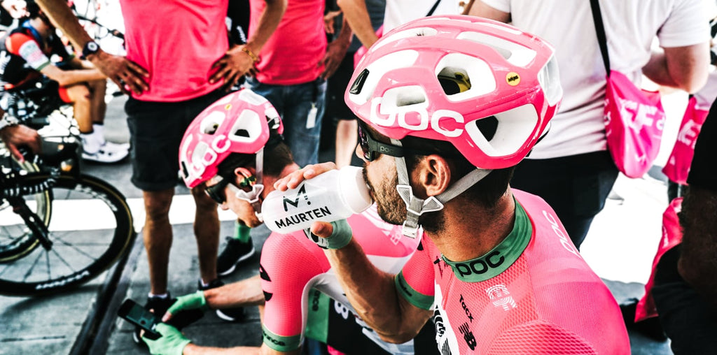 EF Pro Cycling Team at the Tour de France uses Maurten Drink