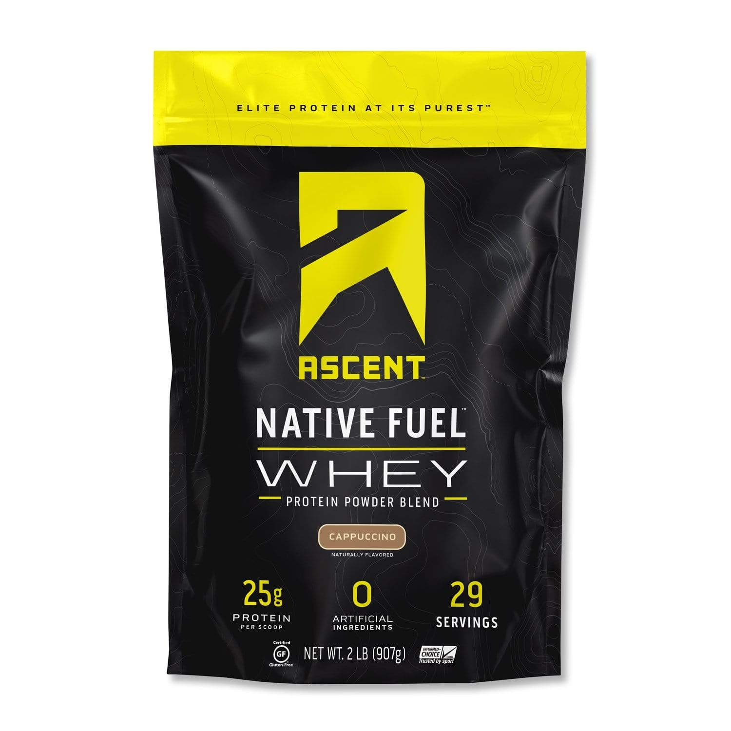Ascent Fuel Whey Protein - Cappucino Protein 27 Servings
