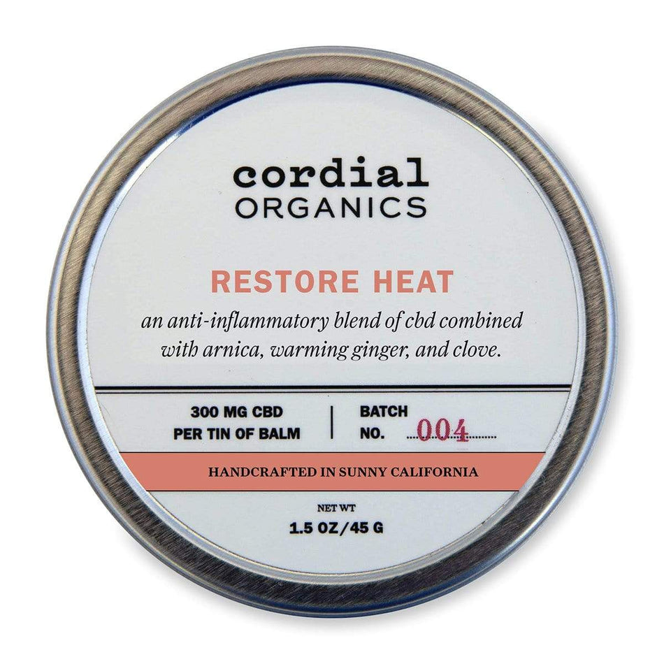 Cordial Organics Restore Heat 300MG-1.5 OZ / 45 G-The Feed