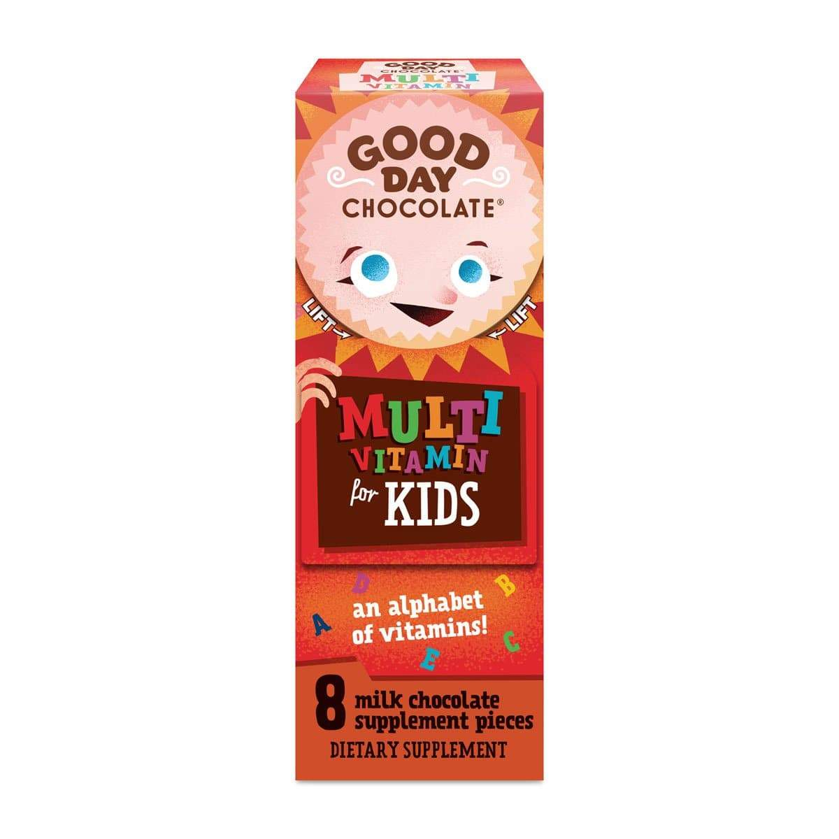 Good Day Chocolate for Kids - Snacks Single Box