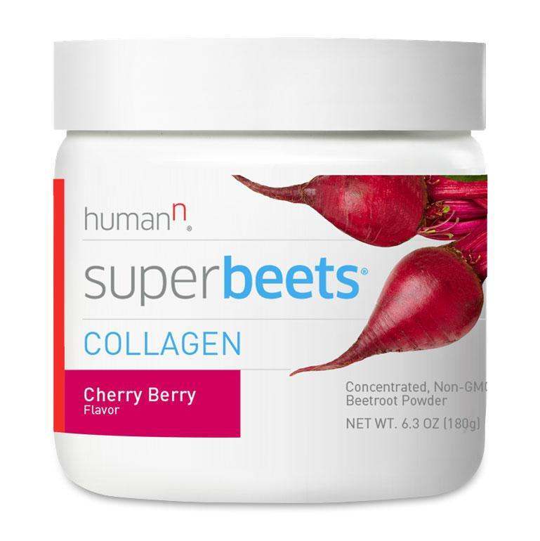 Human N SuperBeets Collagen-30 Servings-Cherry Berry-The Feed