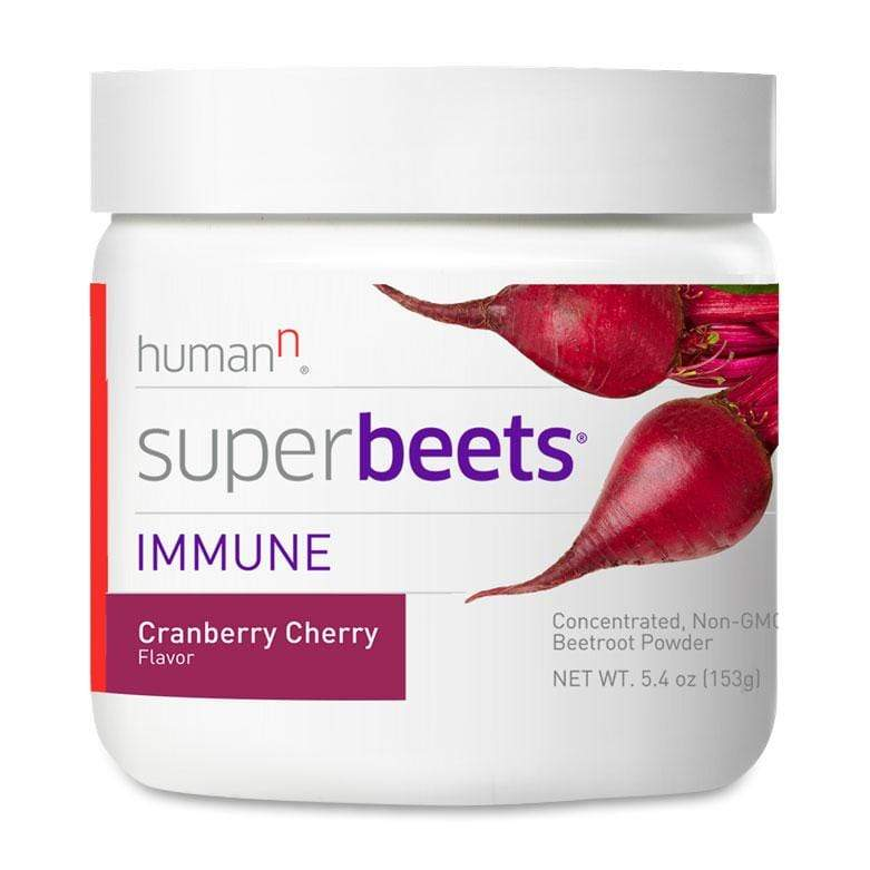 Human N SuperBeets Immune-30 Servings-Cranberry Cherry-The Feed