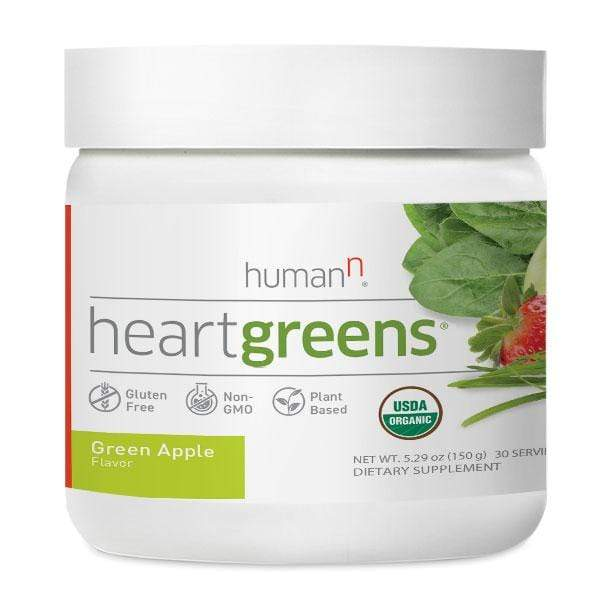 Human N HeartGreens-Green Apple-30 Servings-The Feed