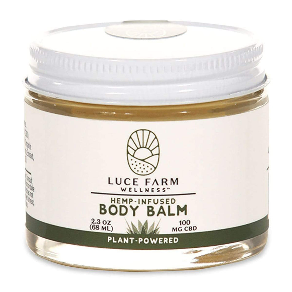Luce Farm Hemp Infused CBD Balm 100MG-2.3 FL OZ-The Feed
