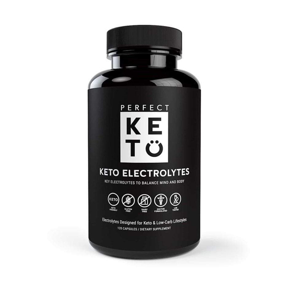 Perfect Keto Electrolytes-120 Capsules-The Feed