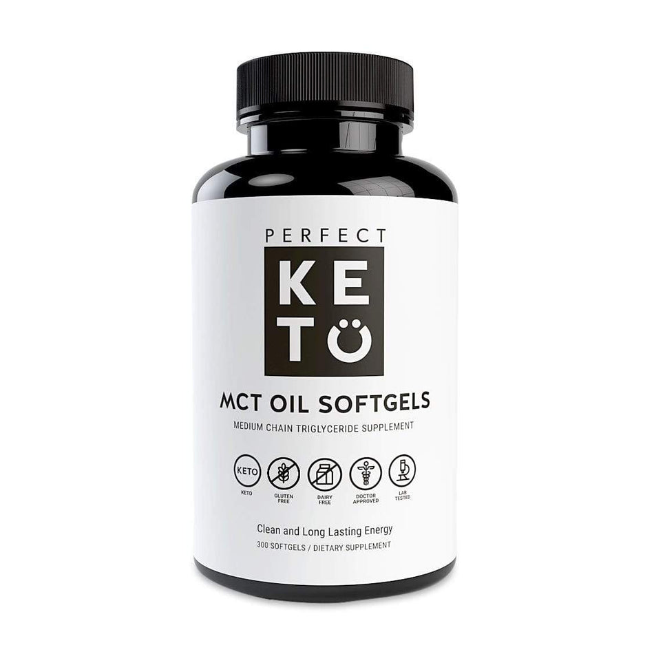Perfect Keto MCT Oil Capsules-300 Softgel Capsules-The Feed