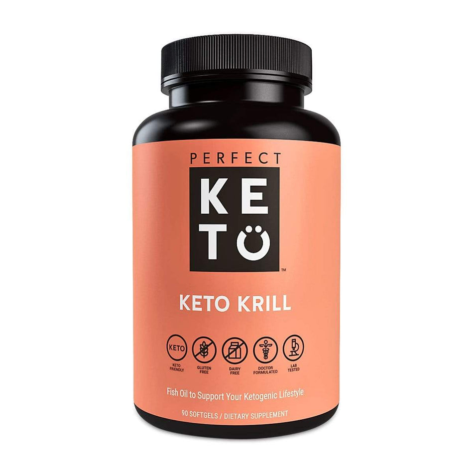 Perfect Keto Krill-90 Capsules-The Feed