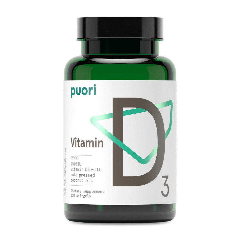 Puori D3 Vitamin D-Unflavored-The Feed