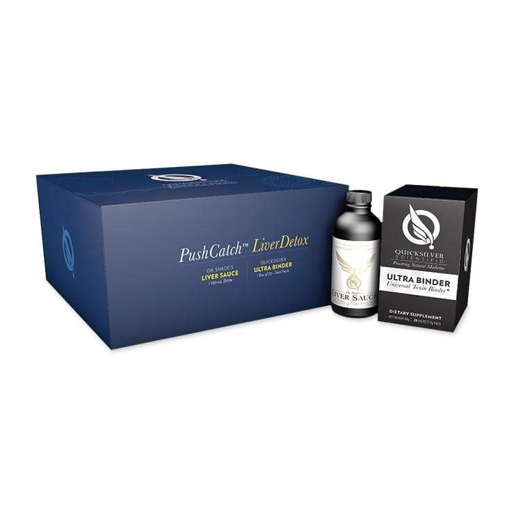 Quicksilver Scientific PushCatch Liver Detox-Bundle-The Feed