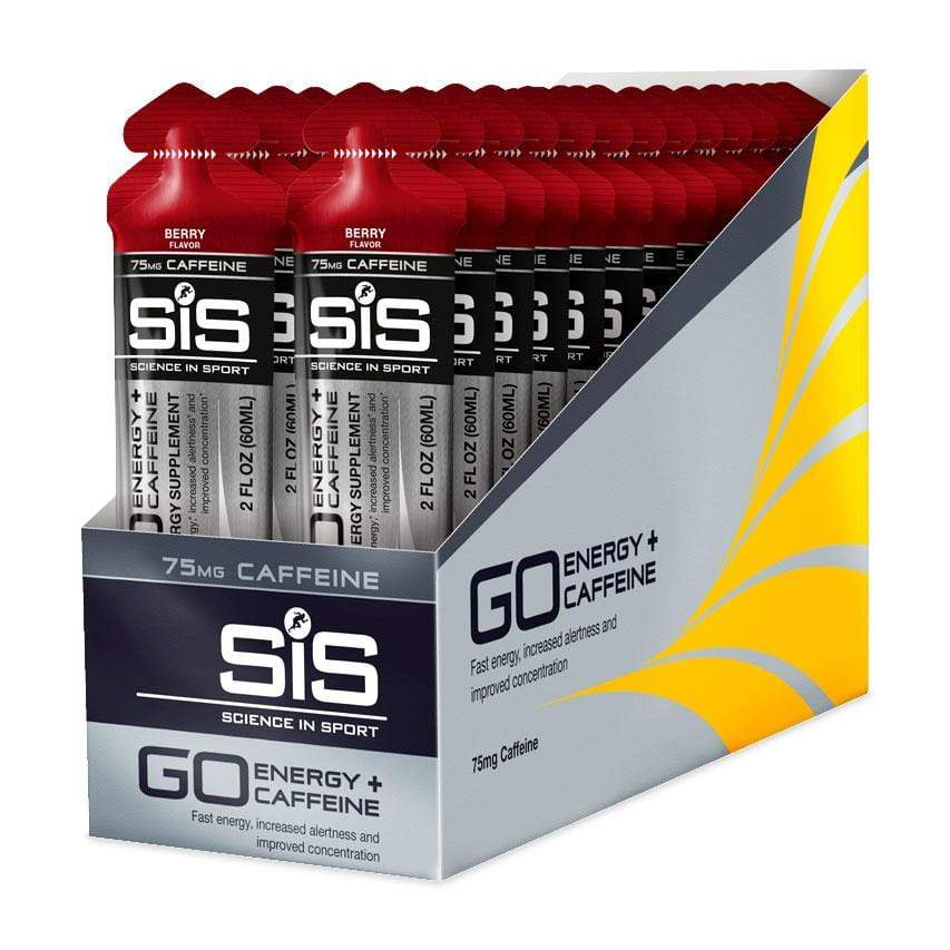 SIS GO Energy + Electrolyte Gel - Gels Box of 30