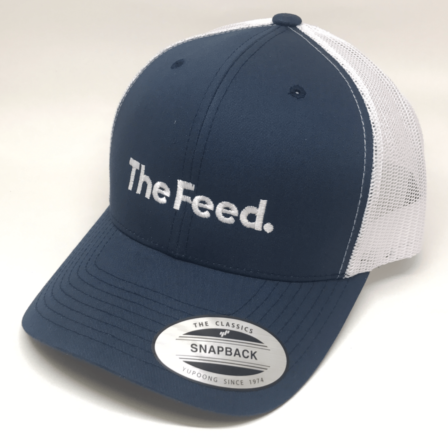 The Feed Trucker Hat - Navy Gear OSFA