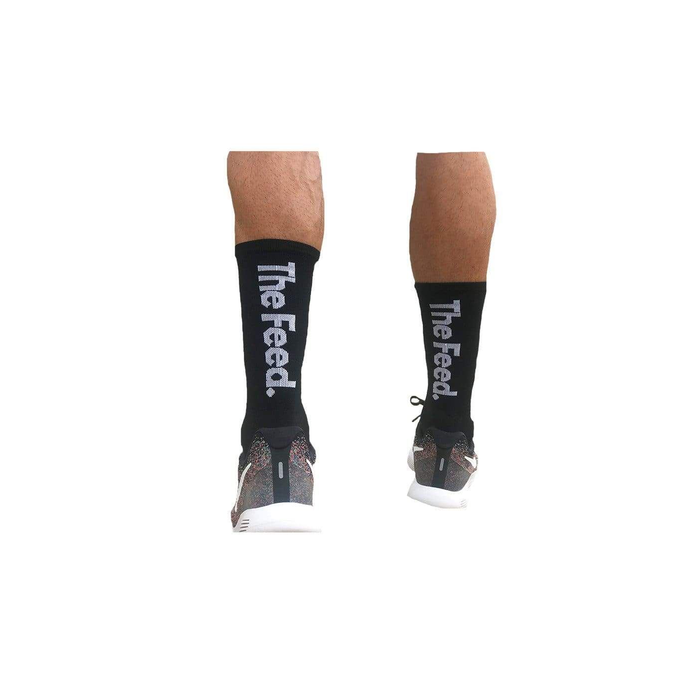 The Feed Multisport Socks - Black Gear Extra Large
