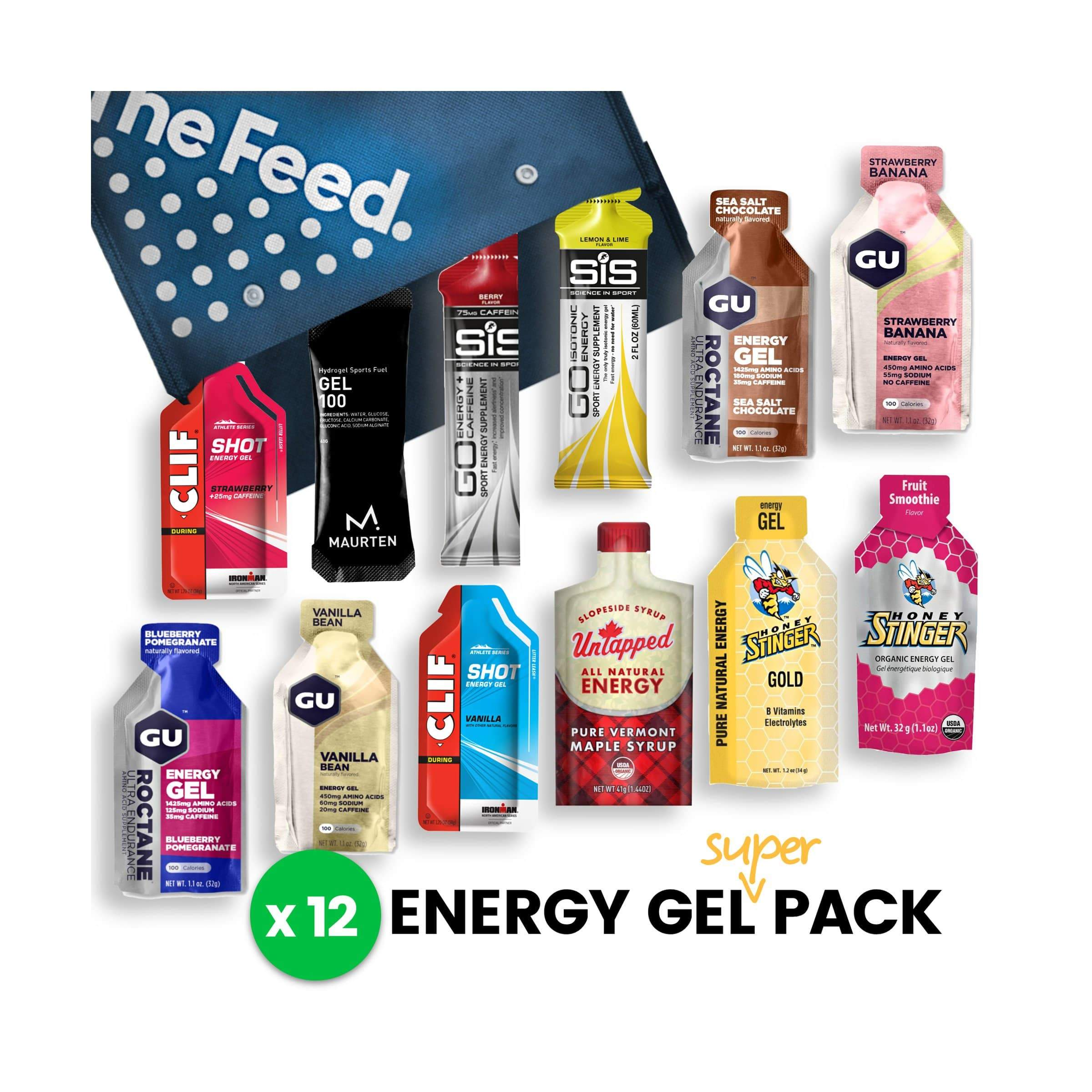 The Feed Energy Gel Super Pack - Gel