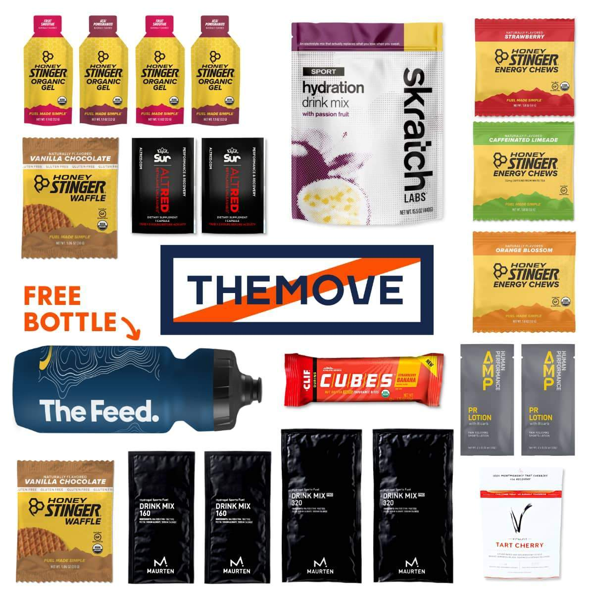 The Move Collection - Misc. Lances 20 Favorite Items (includes free bottle)