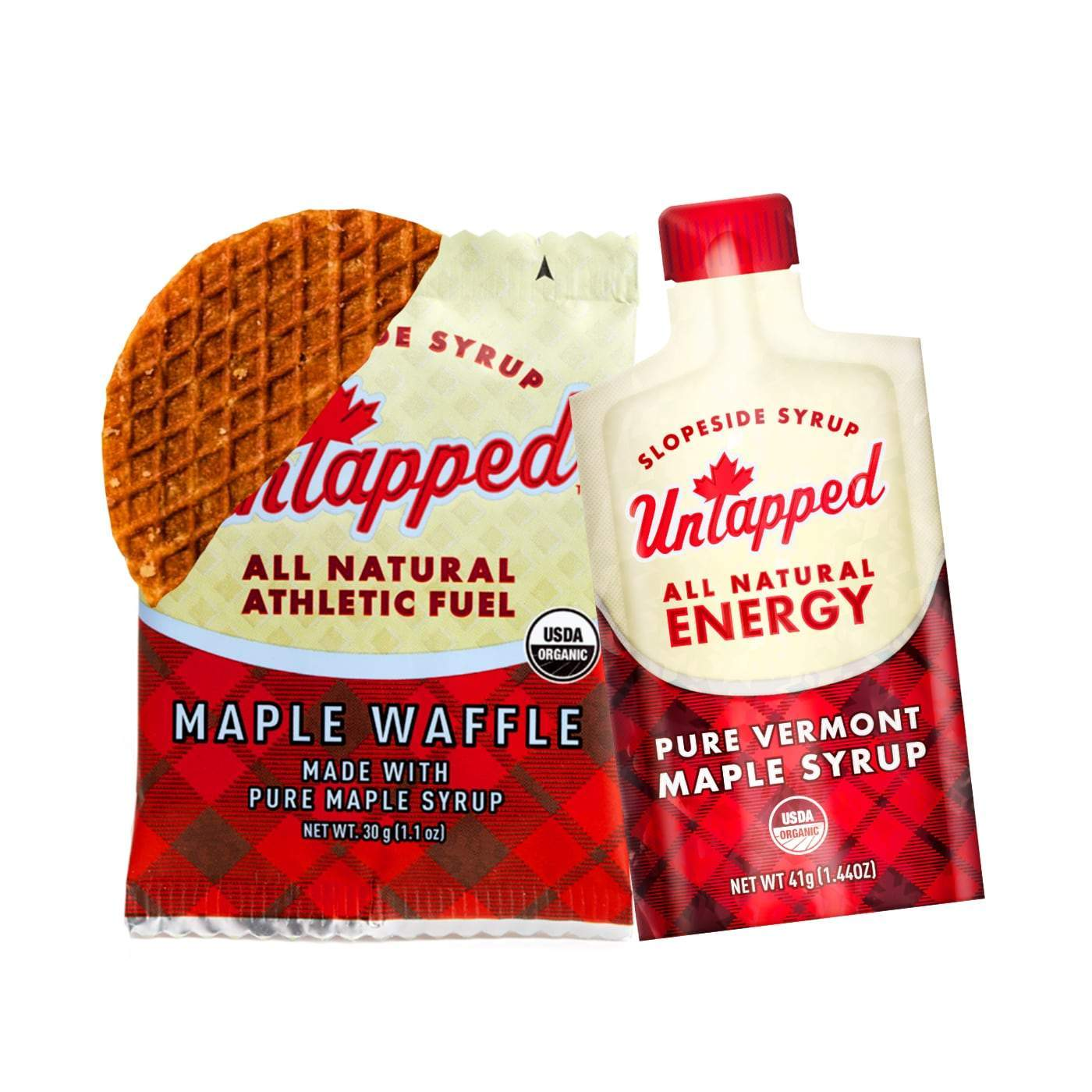Untapped Starter Kit - Gel 1 Waffle & 1 Maple Syrup Packet
