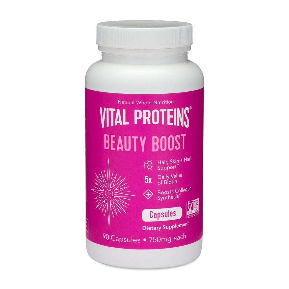 Vital Proteins Beauty Boost-90 Capsules-The Feed