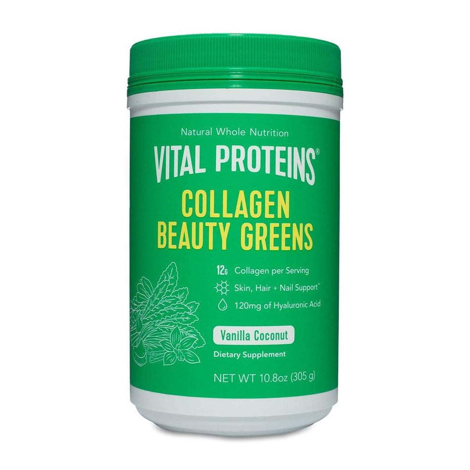 Vital Proteins Collagen Beauty Greens-Vanilla Coconut 10.6oz-The Feed
