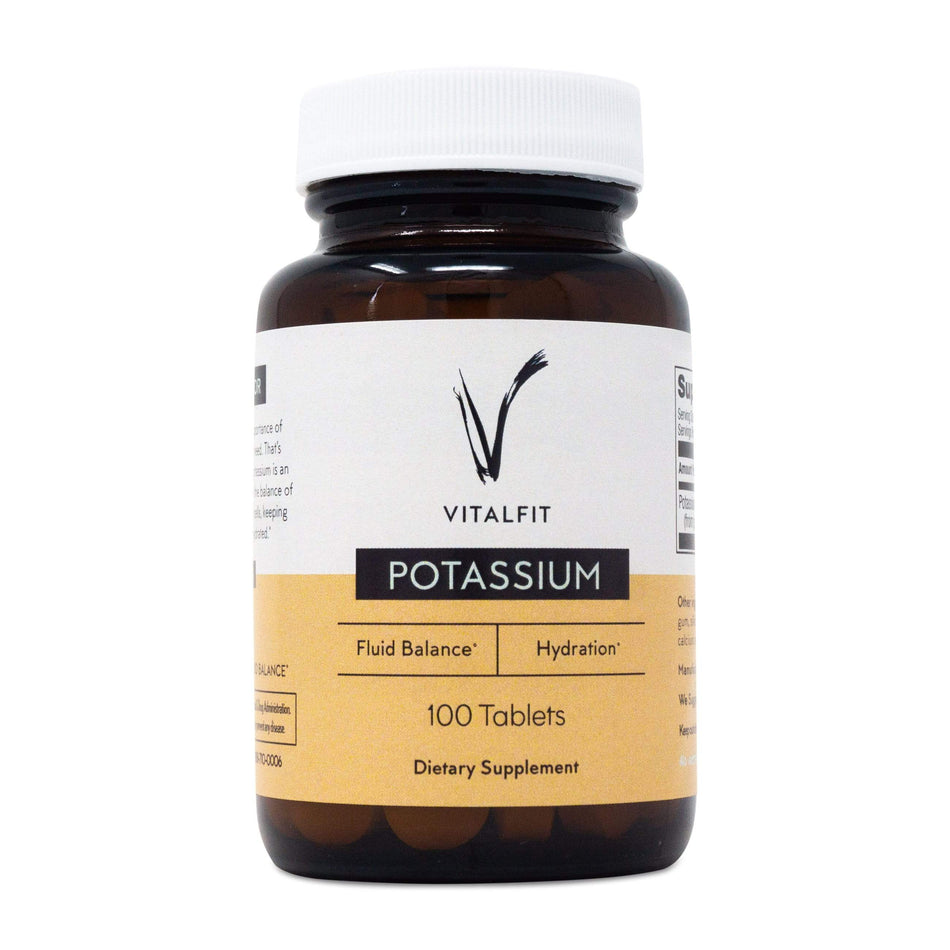 VitalFit Essentials Potassium-100 Tablets-The Feed