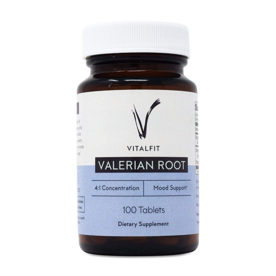 VitalFit Essentials Valerian Root-100 Tablets-The Feed