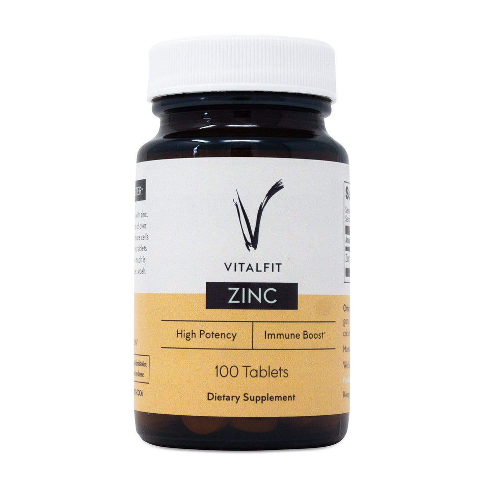 VitalFit Essentials Zinc-100 Tablets-The Feed