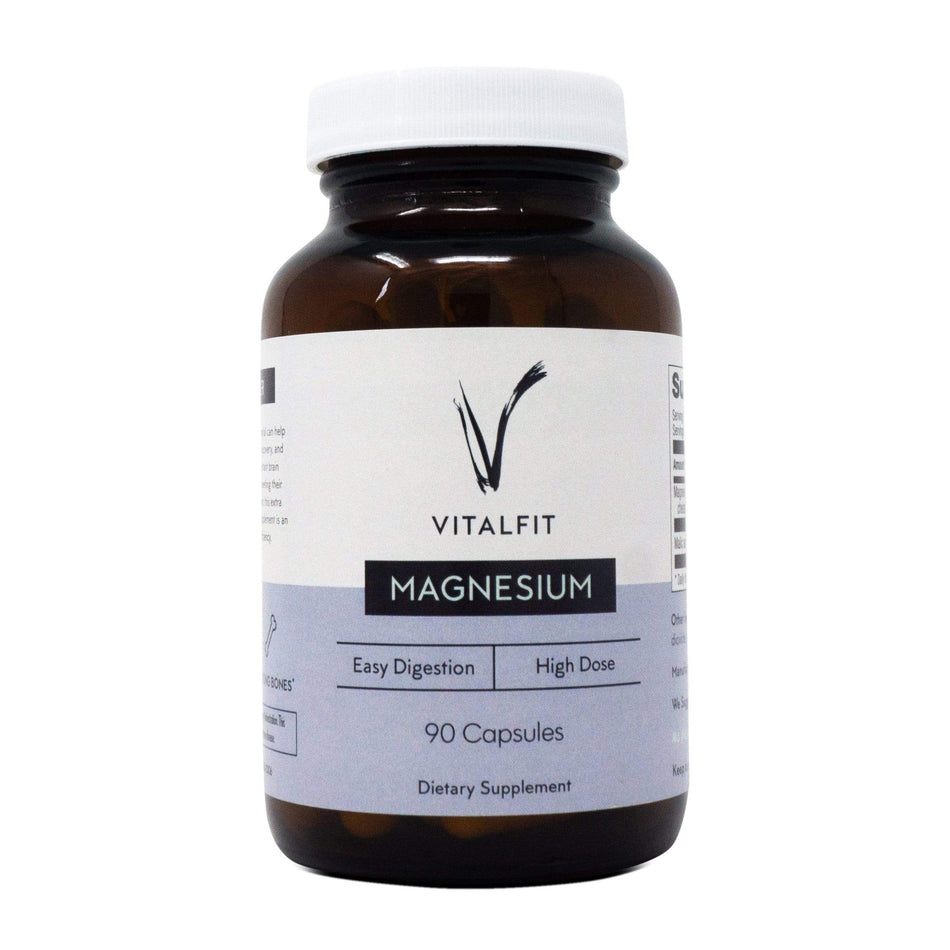 VitalFit Essentials Magnesium-90 Capsules-The Feed