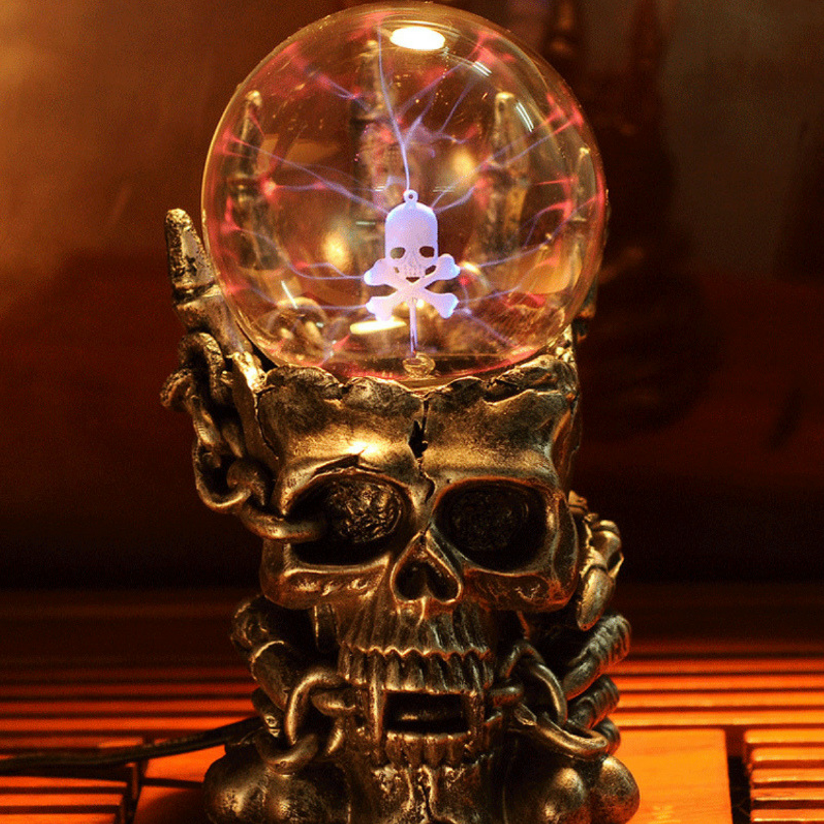 Skull Luminescent Static Ball