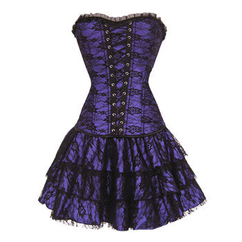 Steampunk Corset Dress