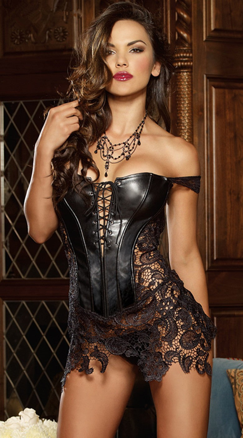 Leather Corset
