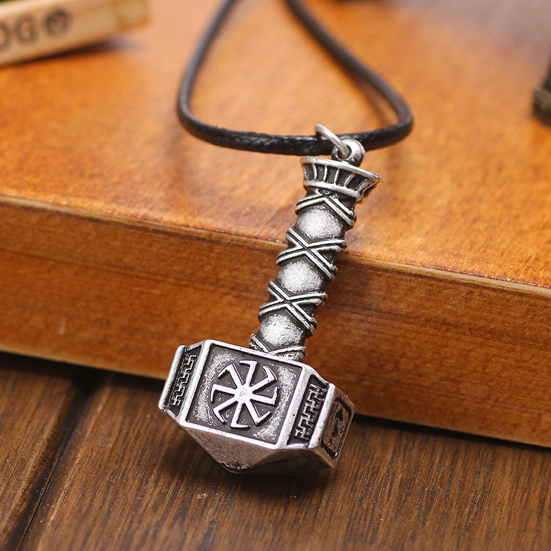 Viking Thor Hammer Necklace