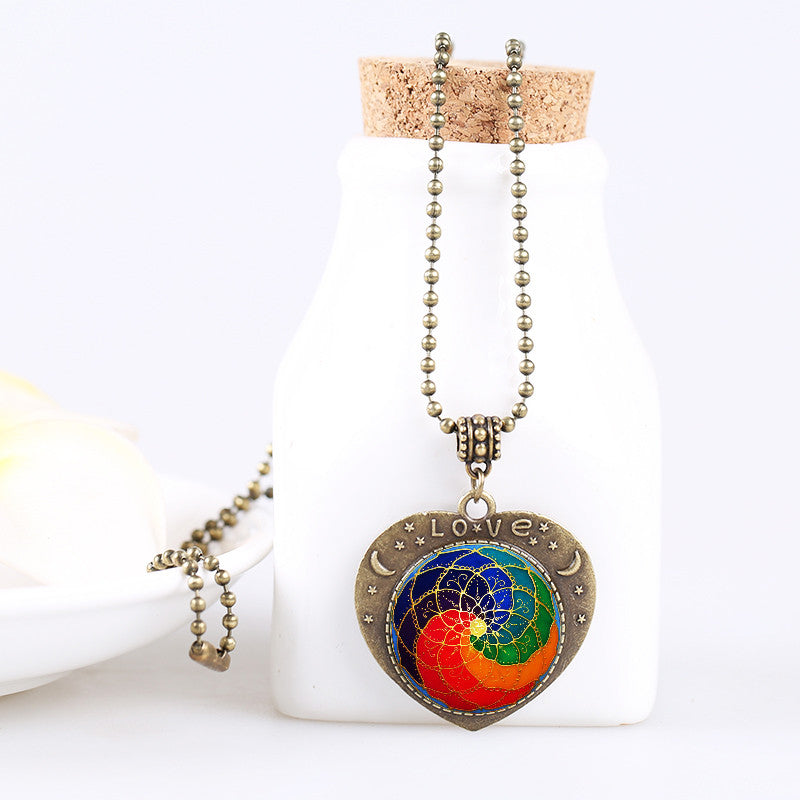 Balanced Heart Chakra Necklace