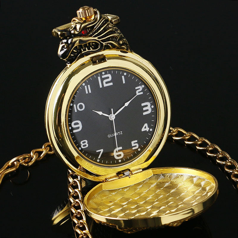 Luxury Dragon Pocket Watch