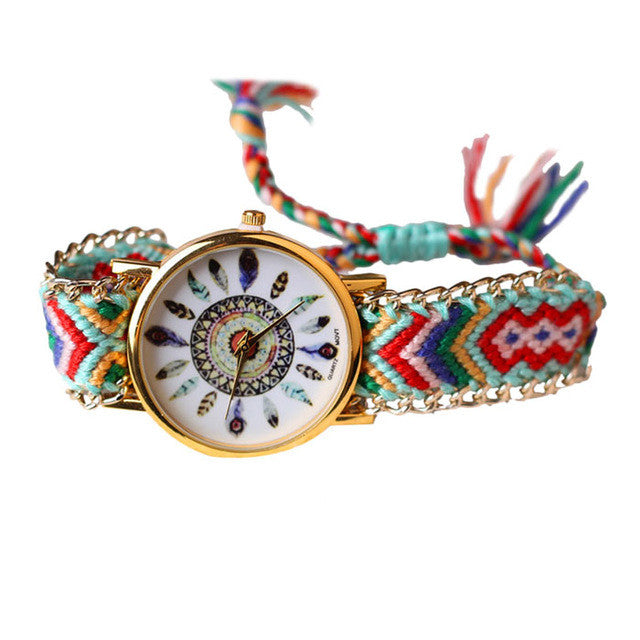 Feather Knitted Watch