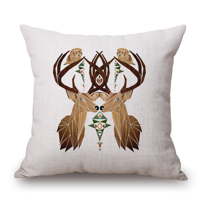 Deer Cushion Covers