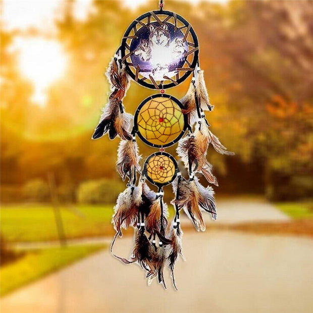 Wolf Indian Dreamcatcher