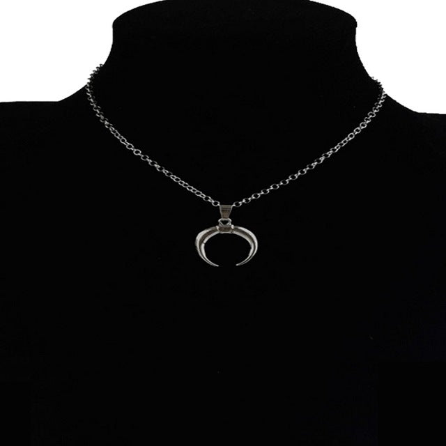 Moon Eclipse Necklace
