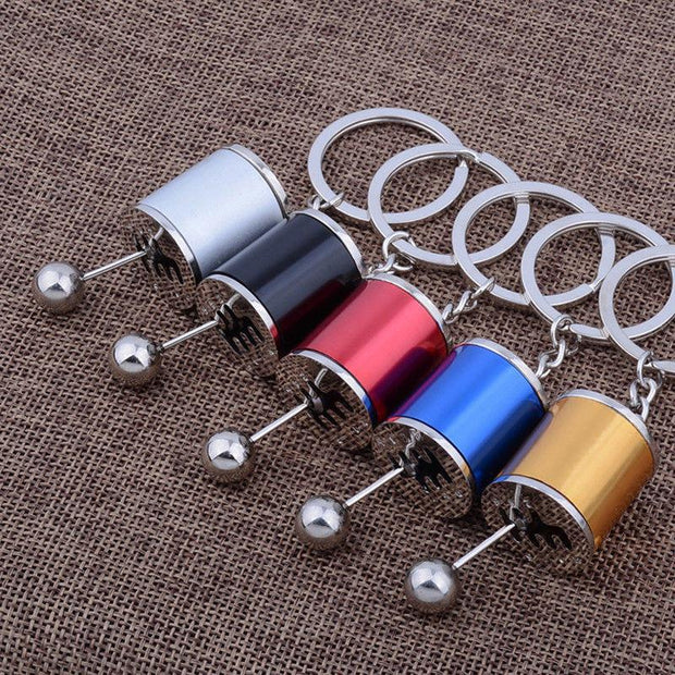 Car Gear Keychain