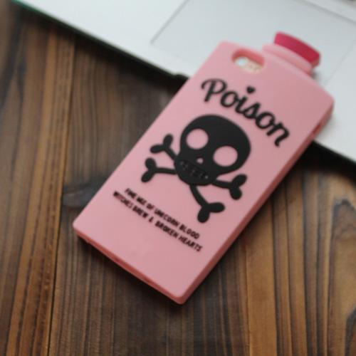 3D Cartoon Skull Potion iPhone Case