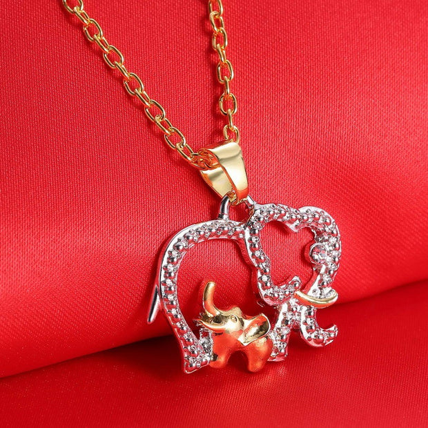 Mother Elephant Necklace