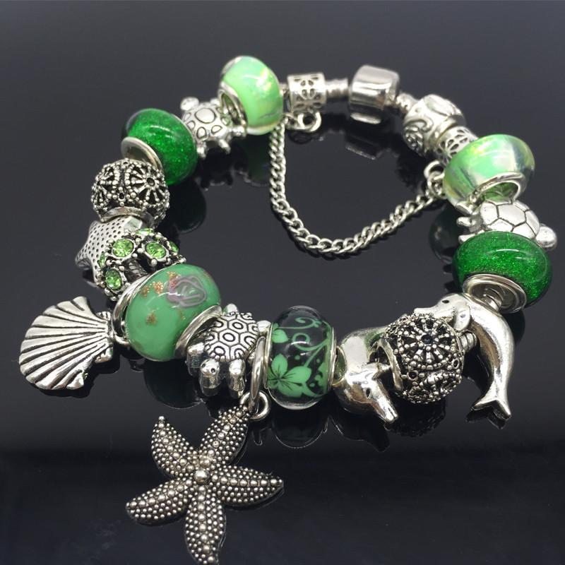 Sea Turtle Cham Bracelet
